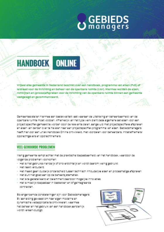 handboemk online sjabloon
